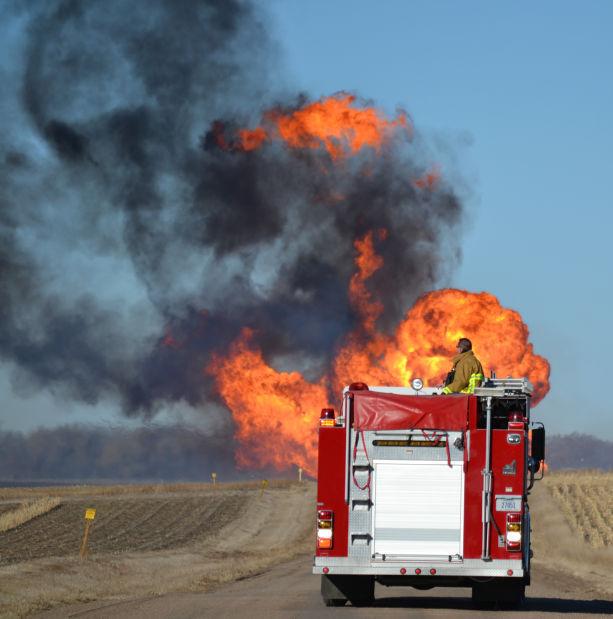 Fremont Pipeline Blaze Sounded Like A Jet Local Journalstar Com