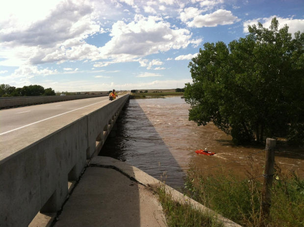 Nebraska Officials Urge People To Stay Clear Of Flood
