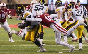 Photos: Huskers end regular season with loss to Hawkeyes