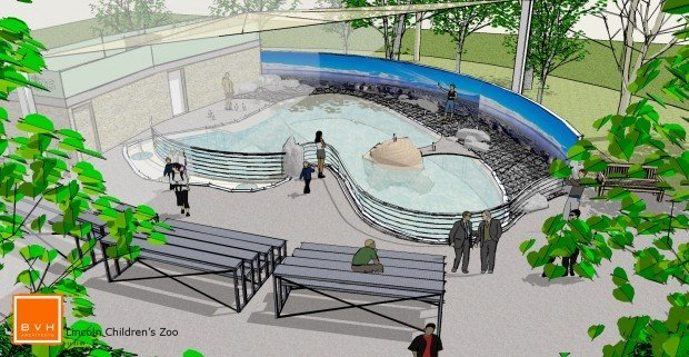 Zoo launches fund drive for new exhibit humboldt penguins for Pool design lincoln ne