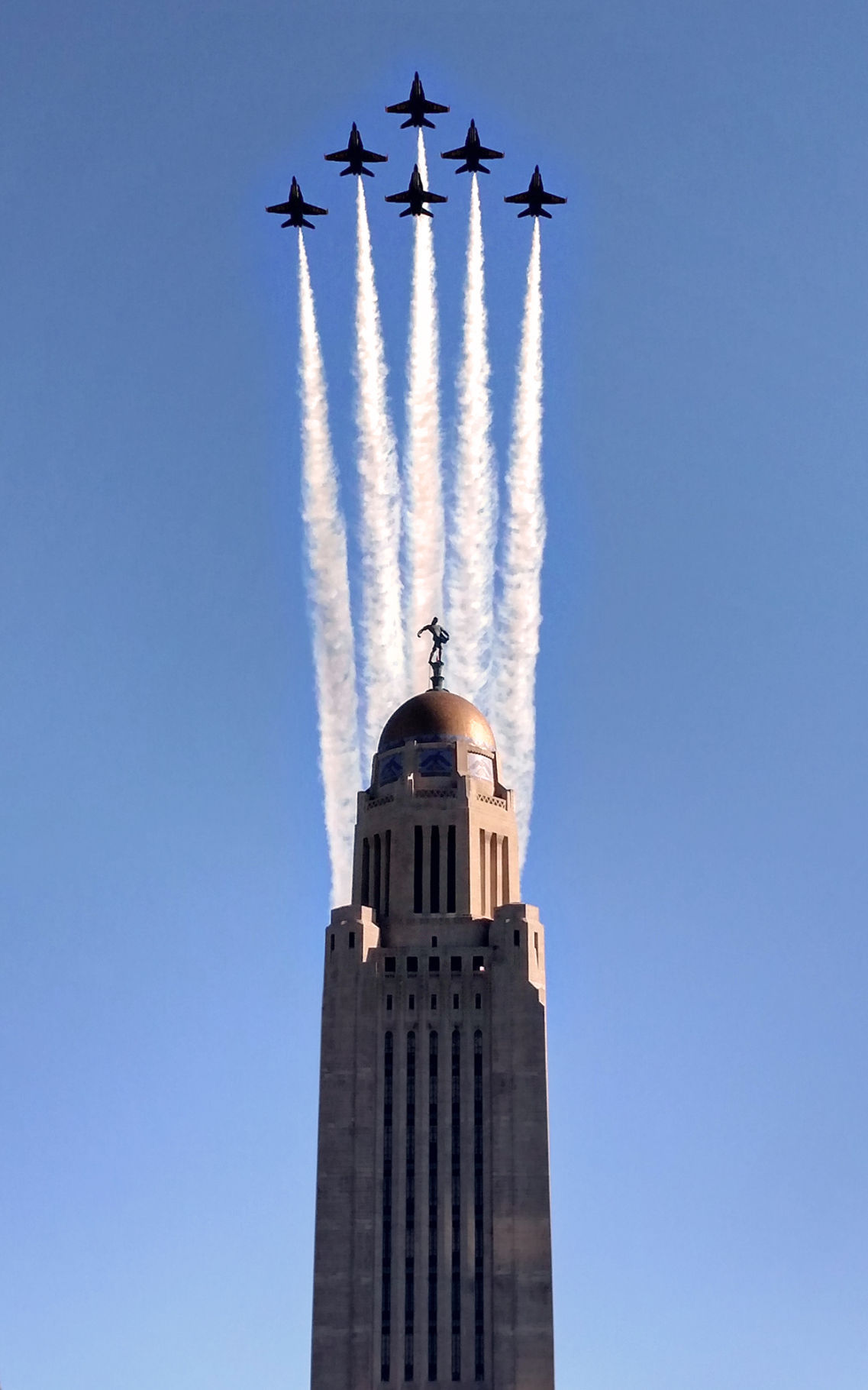 Photos Blue Angels Fly Over Lincoln Photo Galleries