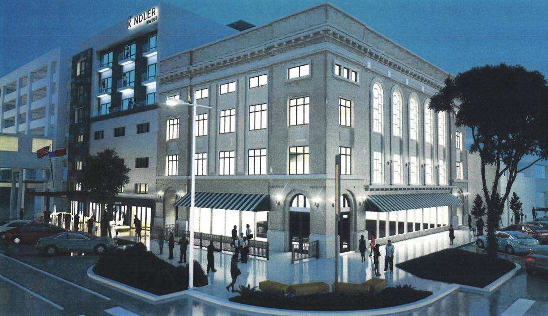 Kindler hotel and commercial club redevelopment involves for Unique small hotels