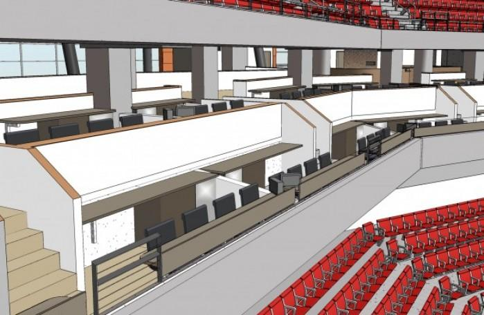 Arena S Loge Boxes A Hit At 20 000 A Year Local