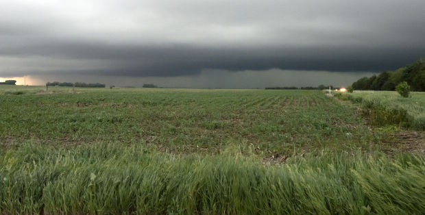Storms Batter State With Hail High Winds And Heavy Rain