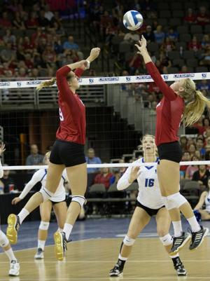 Photos: Nebraska vs. Creighton volleyball