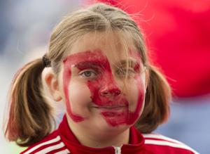 Photos: Husker fans paint Memorial Stadium red
