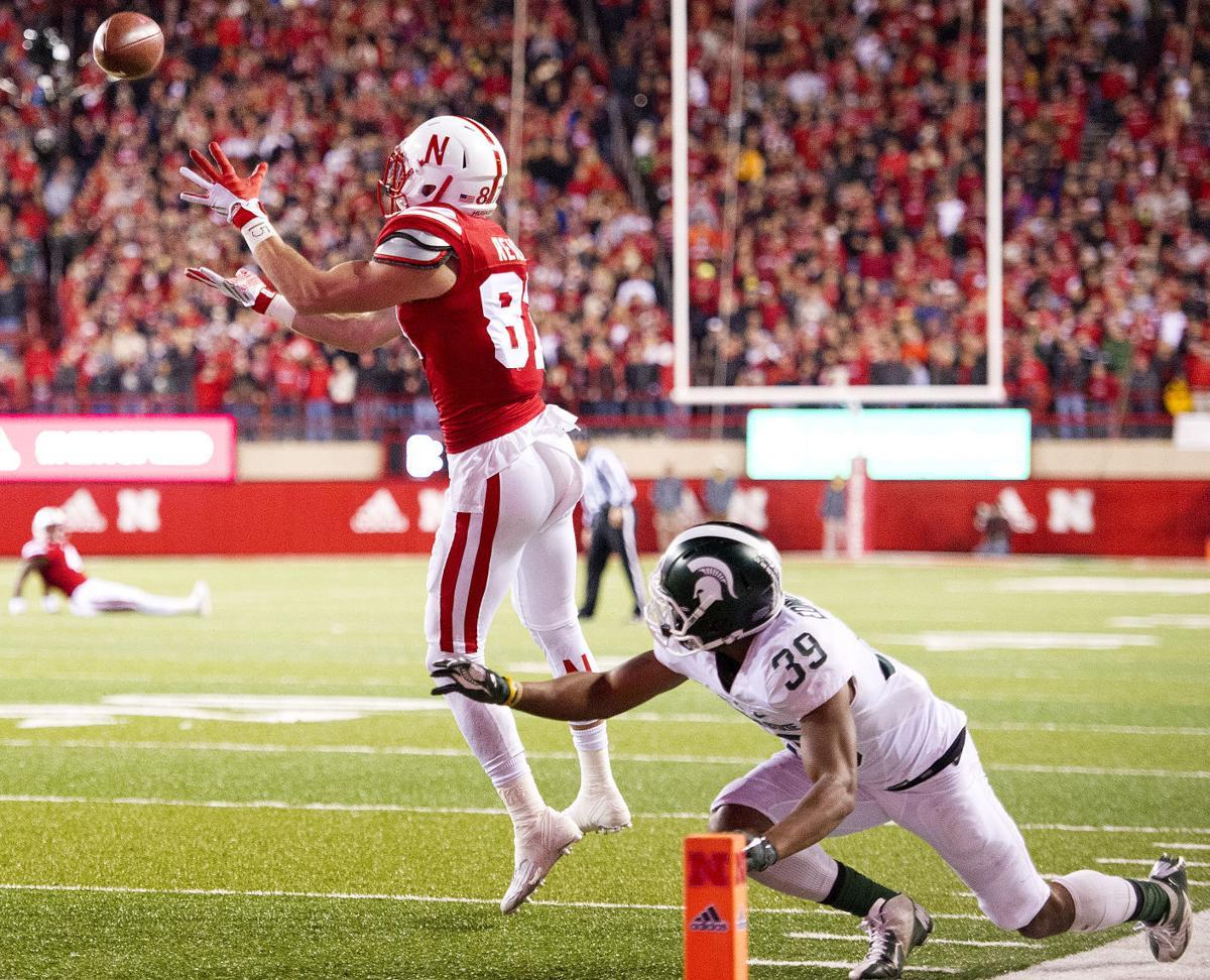 Huskers stun No. 7 Michigan State on late touchdown pass ...