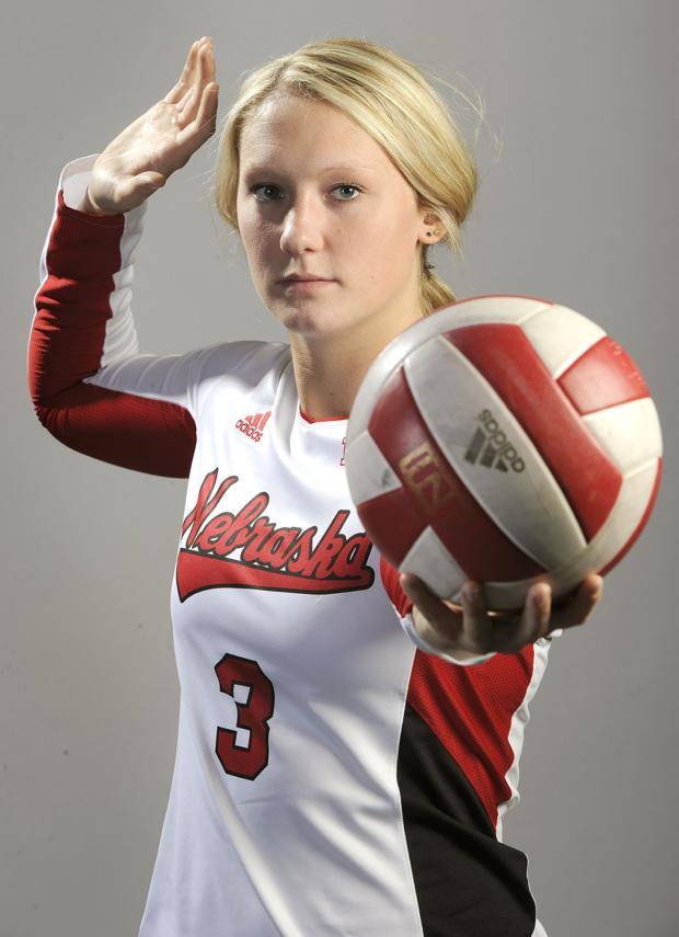 Volleyball: Hunter's work ethic worthy of a tweet