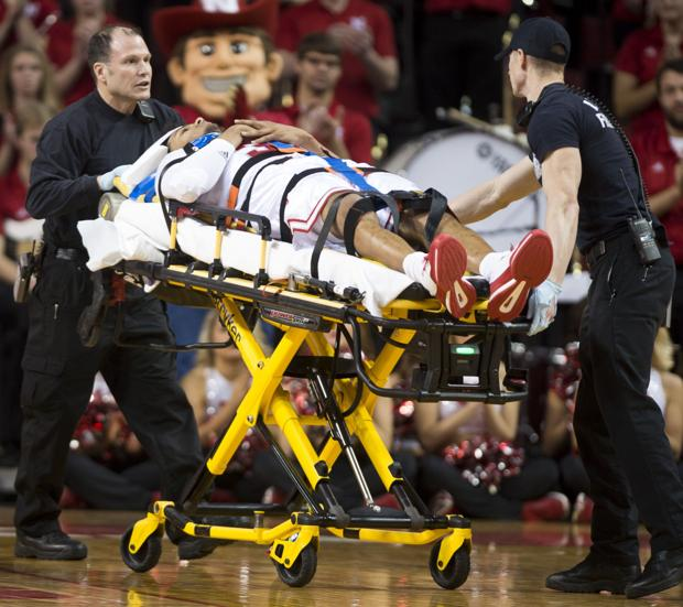 Shields released from hospital after scary fall; Huskers defeat Rutgers