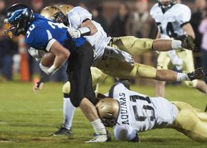 Photos: Aquinas vs. Hastings St. Cecilia, C-2 football playoffs