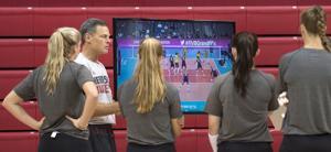 Photos: Nebraska volleyball practice