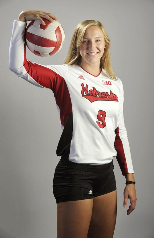 Volleyball Husker Push Streak To Eight With Four Set Win
