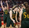 Girls B state basketball: Sander keys Bolts' repeat trip to final