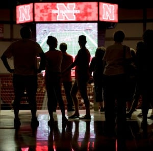 Fewer Husker watch parties planned for arena