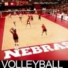 NU Husker volleyball logo