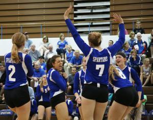 Photos: Omaha Bryan vs. Lincoln East volleyball