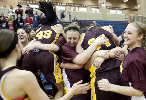 Photos: State girls hoops, Sterling vs. Stuart, 3.6.14