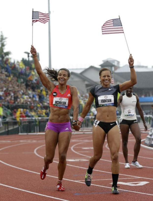Gallery Ex Husker Chantae Mcmillan S Olympic Trials Gallery
