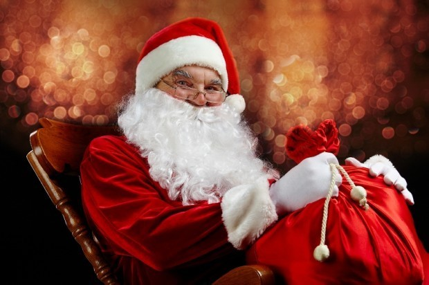 Santa Claus Is Helping Families Get Into The Holiday