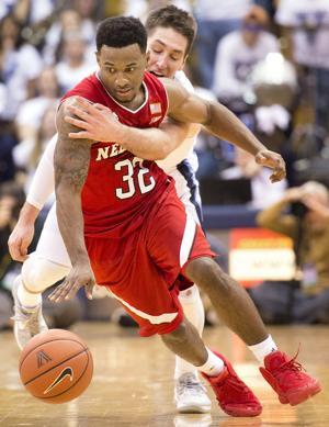 Photos: Nebraska basketball at Villanova