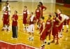 Nebraska men's basketball practice
