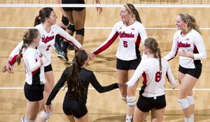 Photos: Indiana vs. Nebraska volleyball