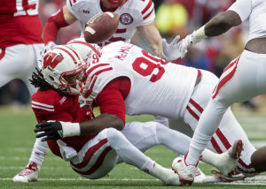 Photos: Nebraska falls to Wisconsin