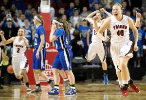 Photos: State girls hoops, Humphrey St. Francis vs. Friend, 3.8.14