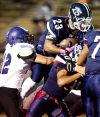 Lincoln North Star High School vs. Grand Island High School prep football, 10.10.13