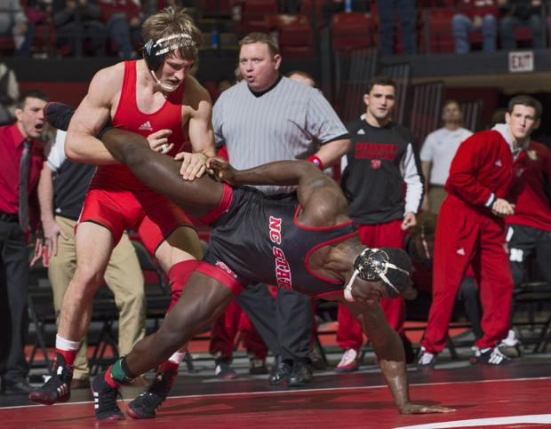 Wrestling: No. 3 Wolfpack survives Husker challenge