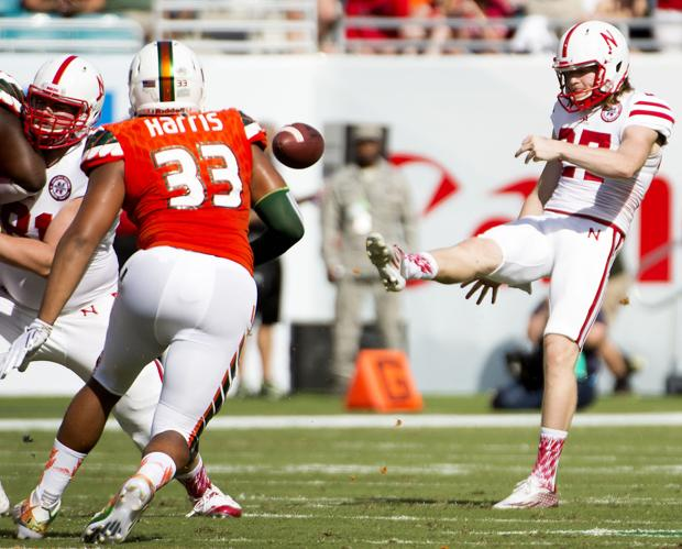Foltz wins B1G honor, eager to lead Huskers over next year