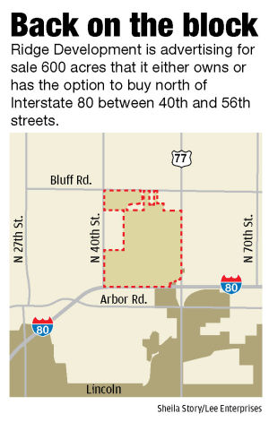 Huge tract of land on I-80 set for auction