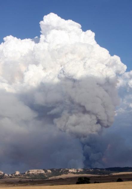 Chadron Area Fires Burn 40 Square Miles Nebraska News