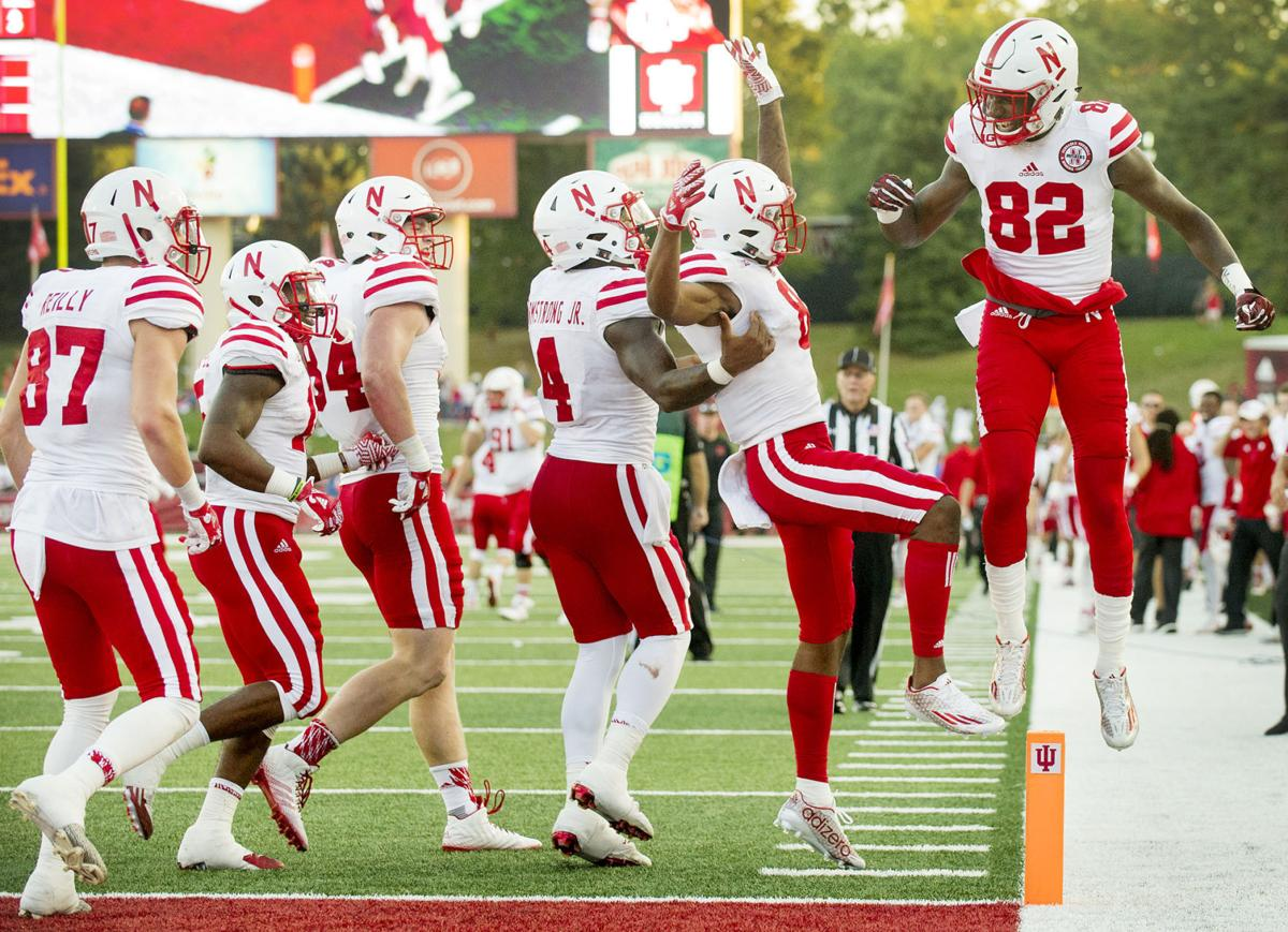 Image result for Nebraska beats Indiana 2016