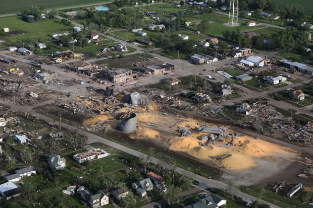 Shocked Pilger Residents Begin To Pick Up The Pieces
