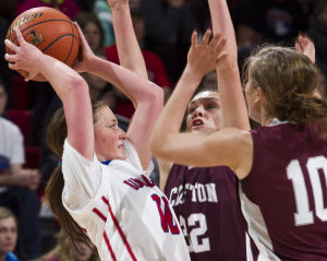 Photos: State girls hoops, Crofton vs. Humphrey/LHF, 3.7.14