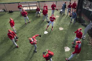 Photos: Nebraska baseball opens spring practice