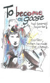 Graphic poetry goose