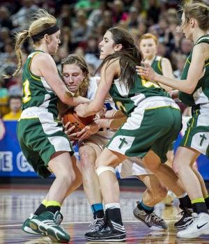 Photos: State girls hoops, Kearney Catholic vs. Pierce, 3.7.14