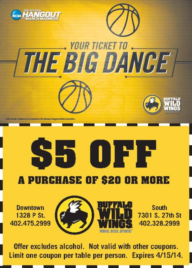 picture relating to Buffalo Wild Wings Printable Coupons known as Buffalo wild wings coupon march 2018 / Coupon codes mountain