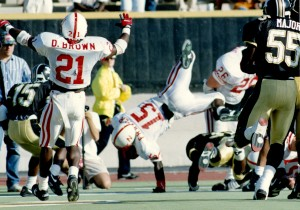 5 yards: Frazier jumps into Husker hearts