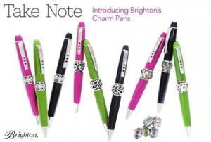 Take Note Brighton Charm Pens