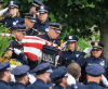 Overflow crowd mourns Officer Kerrie Orozco at funeral