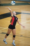 Prep volleyball: Sutton's Wiseman back from ACL tear