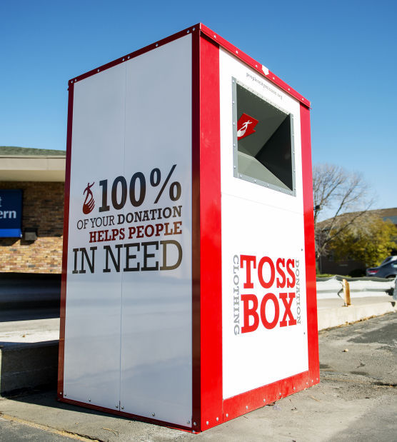City Mission S New Donation Boxes Stand Out Local
