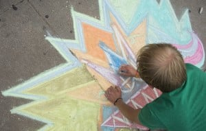 Sidewalk chalk-fest set for Aug. 23