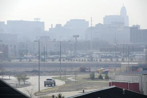 Air quality health advisory issued because of smoke