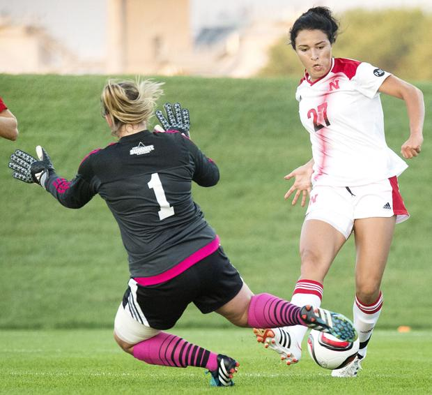 Soccer: NU's Baldo ready to step into bigger role