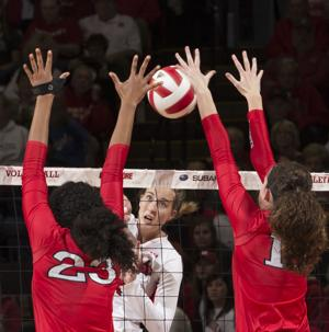 Photos: Rutgers vs. Nebraska volleyball