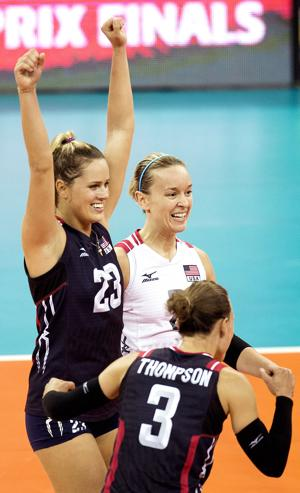 Photos: FIVB Grand Prix, USA vs. Japan, 7.22.15